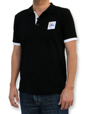 ESAF Poloshirt Schwarz